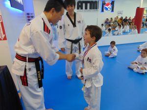 Congratulating a Student